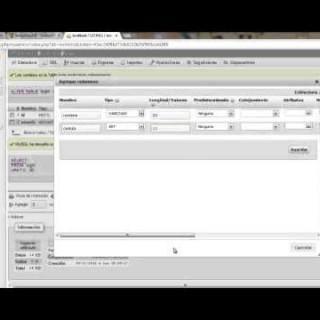 Php MySql tutorial: agregar columnas a tablas creadas