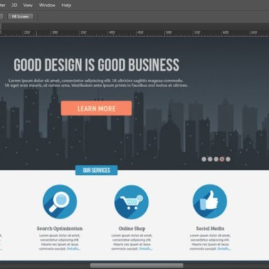 PSD To HTML   PSD To Bootstrap   HTML Tutorial Step By Step   PSD To Responsive Website