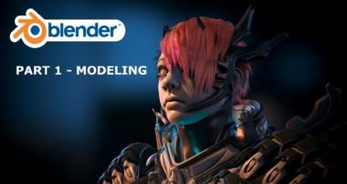 Blender 3d Tutorial: Hair Creation For Games Part 1