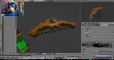 Blender: make minecraft objects in cycle render!