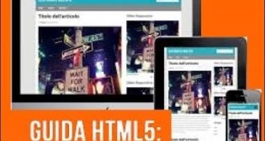 Tutorial HTML e CSS come creare un sito web responsive, con Bootstrap o Foundation
