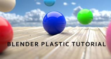 Tutorial #2 – Blender Plastic material | Graphic' Art