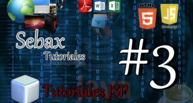 Tutorial JSP: Conexión a base de datos MySql y utilizacion de las consultas Parte 3