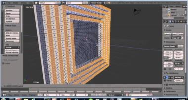 PTV Blender Modeling Tutorial 5 (Depoly and Material setup)