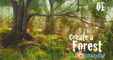 How to Create a Forest in Blender : Custom Trees – 1 of 6