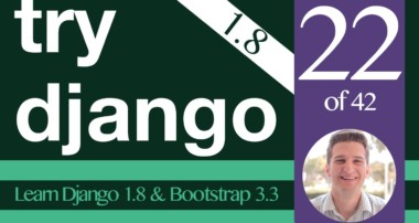 Try Django 1.8 Tutorial – 22 of 42 – Bootstrap Grid System  –  Learn Django