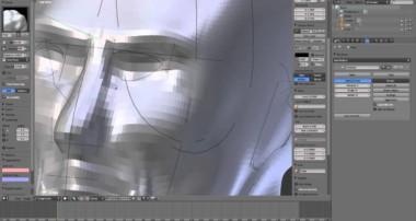 Sculpting a Human Head in Blender