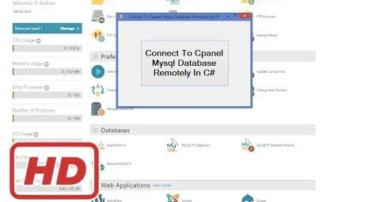 [C# WPF tutorial] C# – Connect To Cpanel MySql Database Remotely In C#