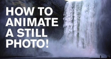 Photoshop: WHOA! How to Animate a Still Photo!