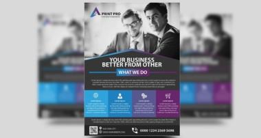 Modern Corporate Flyer Design | Photoshop Tutorials