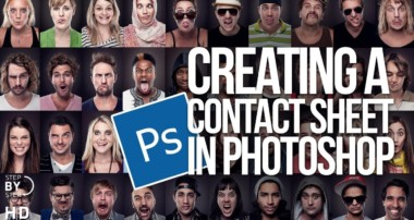 Creating a Contact Sheet in Photoshop CS6