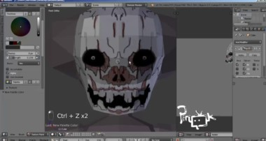 Tutorial Blender guru – LowPoly Horror Clown ( IT ) Part 1