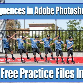 Tutorial action photo sequence in Adobe Photoshop –  photoshop cc tutorial