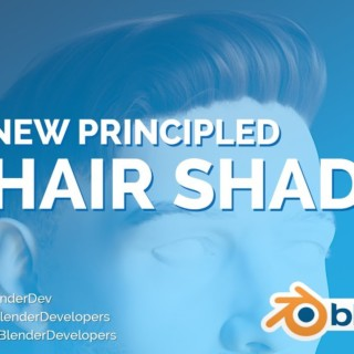 NEW HAIR SHADER! – Blender 2.8 Alpha
