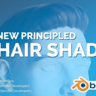 NEW HAIR SHADER! – Blender 2.8 Alpha
