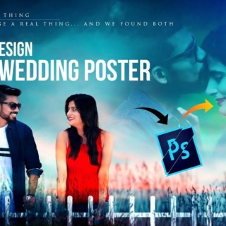 Movie or Couple Poster Design in Photoshop – Hindi Tutorial