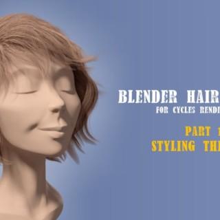 Blender Hair Styling Part 1