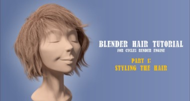 Blender Hair Styling Part 1