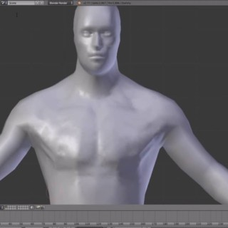 Character creation in Blender 3d #1: making the high poly.