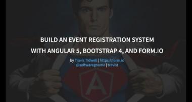 Building an Angular 5 + Bootstrap 4 application