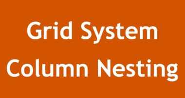 [ Twitter Bootstrap 3 In Arabic ] #10 – Grid System Column Nesting