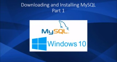 Downloading and installing MySQL on Windows 10 – How To Install MySQL in Windows 10 (part 1)