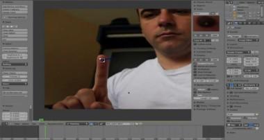Basics of Motion Tracking Part #1 – Blender 3D – 2.63 – Linux