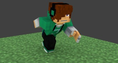 [Tutorial] How To Render Your Minecraft 1.8+ Skin in Cycles Blender