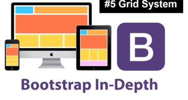 Bootstrap tutorial for Beginners 2017 Grid System 5