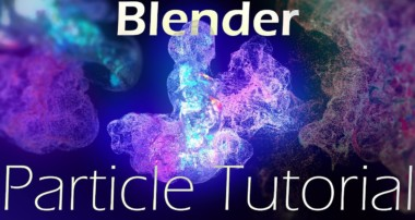 Blender particle simulation tutorial: Smoke Flow & Particles