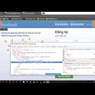 [Basic HTML/CSS] Dựng giao diện trang đăng nhập Facebook bằng bootstrap – Phần 1
