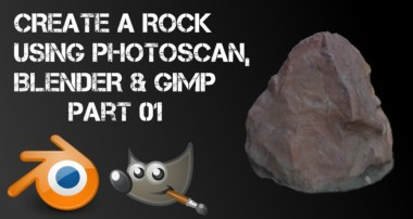 3D model using Photoscan and Blender – Part 01 – SCANNING