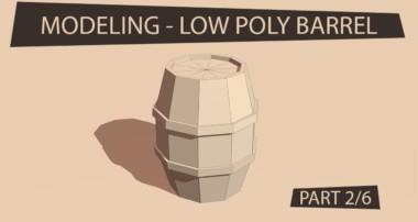 GAME ASSET TUTORIAL – Low Poly Modeling in Blender (PART 2/6)