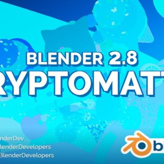 Cryptomatte in Blender 2.8 Alpha 2!