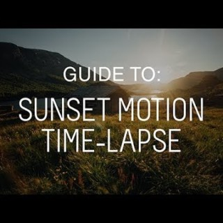 Tutorial: How to Shoot a Ramping Sunset Motion Time-lapse – Morten Rustad