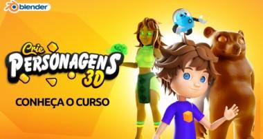 Curso Blender – Crie Personagens 3D