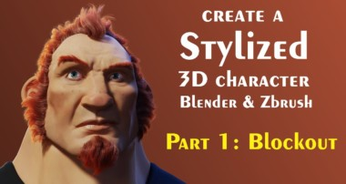 Tips for creating 3d Characters (Blender, Zbrush) Part 1 – Blockout
