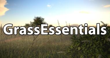 Grass Essentials Blender Test
