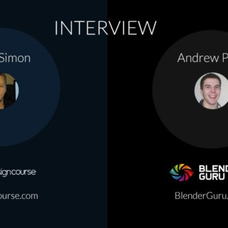 Interview: Andrew Price of BlenderGuru.com
