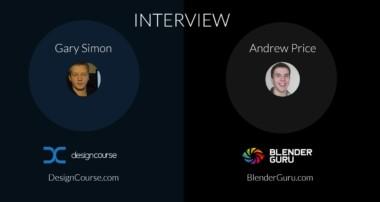 Interview: Andrew Price of BlenderGuru.com