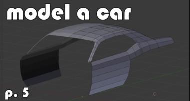 Model a 3d Car | part 5 | modeling more complex shapes (Blender tutorial)