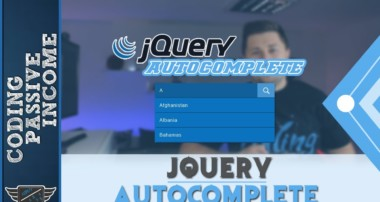 jQuery Tutorial: jQuery Autocomplete With Ajax & PHP & MySQL