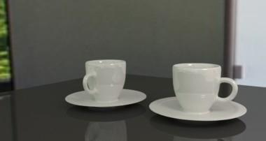 Tut 62 – Deutsch – Kaffee-Tassen inklusive Untertassen mit Blender Cycles Render erstellen