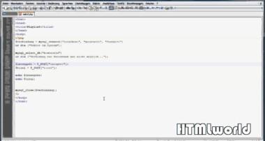 PHP Tutorial: Daten abspeichern in eine MySQL Tabelle | deutsch