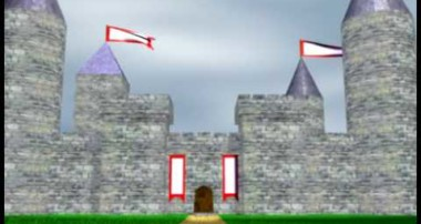 Blender 3D Castle Animation