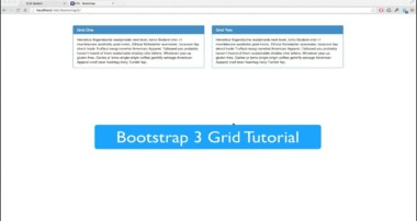 Bootstrap 3 Grid System Beginner Tutorial