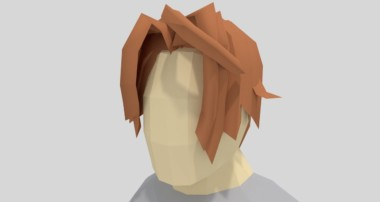 Blender Tutorial: How to Model Low Poly Hair