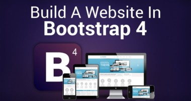 Build A Complete Website Using Bootstrap 4 | Eduonix