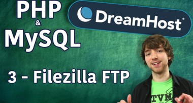 PHP MySQL in DreamHost Tutorial 3 – Filezilla FTP