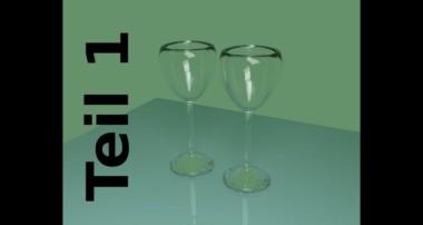 Tut 51 – Deutsch Teil 1 – Weingläser erstellen mit Cycles Render von Blender 2.64
